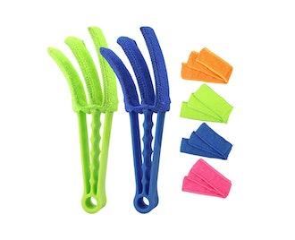 RUIMAICAN Window Blind Duster Brush Kit (2-Pack)