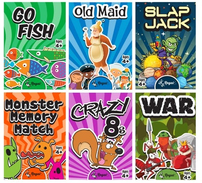 Classic Card Games 6-Pack