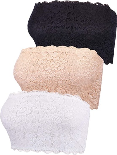 Boao Lace Bandeaus (3-Pack)