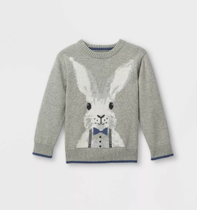 Cat & Jack Toddler Boys' Easter Bunny Pullover Sweater