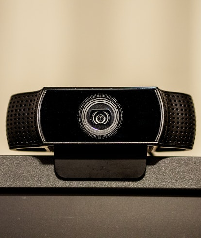 A logitech webcam.