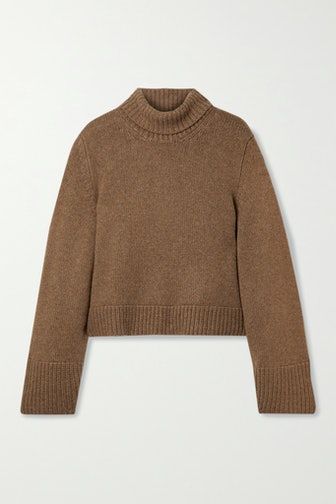 Marion Cashmere Turtleneck Sweater