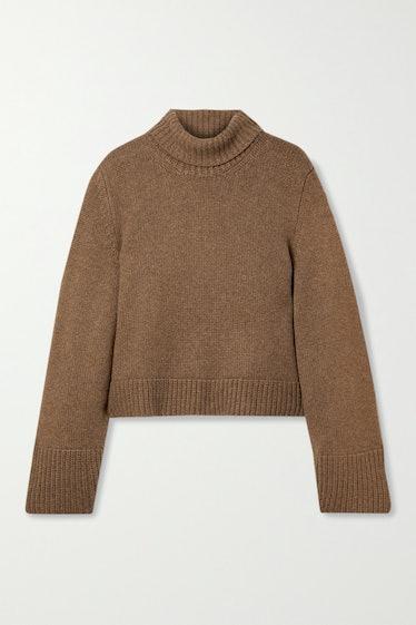 Marion Cashmere Turtleneck Sweater