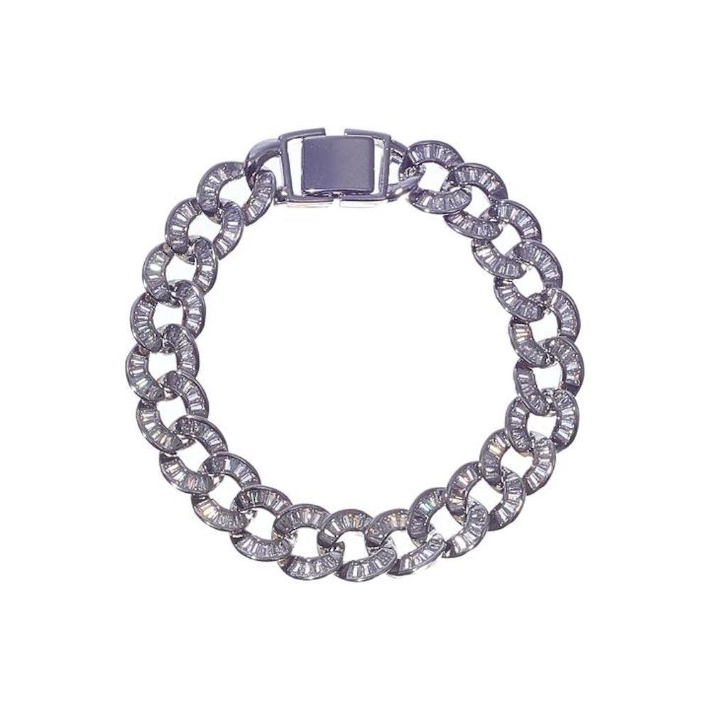 Iced Baguette Bracelet