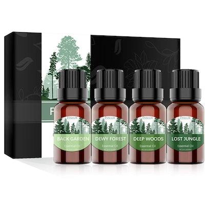 ESSLUX  Essential Oils Set (4-Pack)