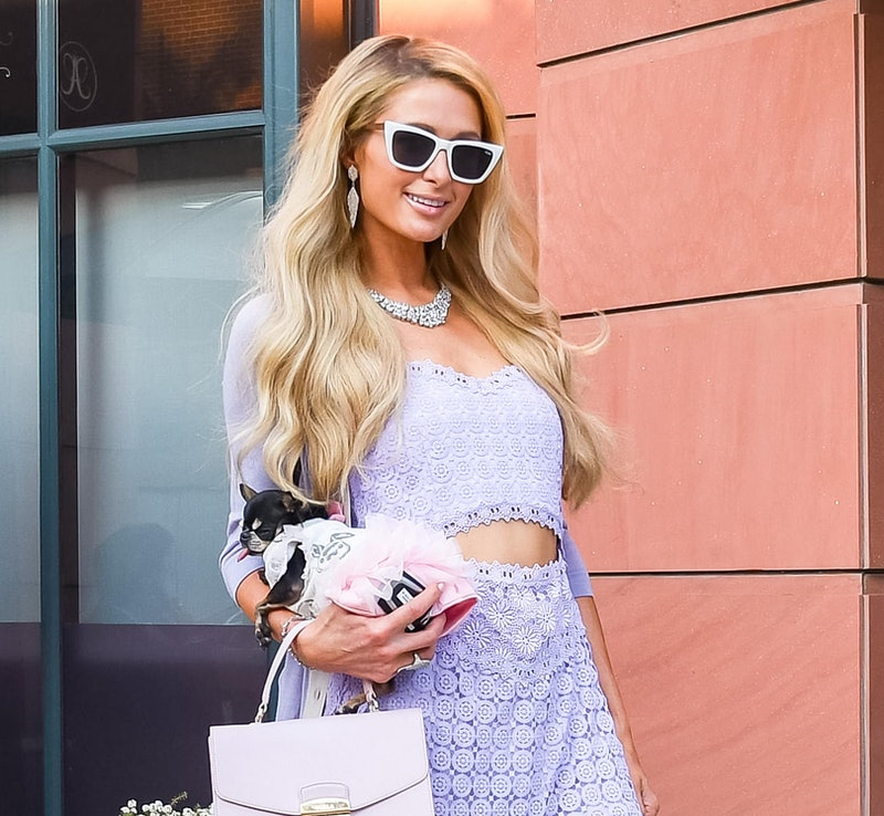 Paris Hilton is seen on January 22, 2020 in Los Angeles, California.