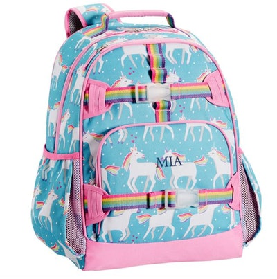 Mackenzie Aqua Unicorn Parade Backpack