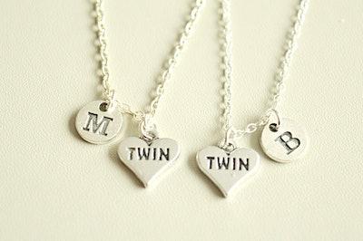 Twins Necklace Set