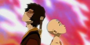 Zuko and Aang in Avatar: The Last Airbender