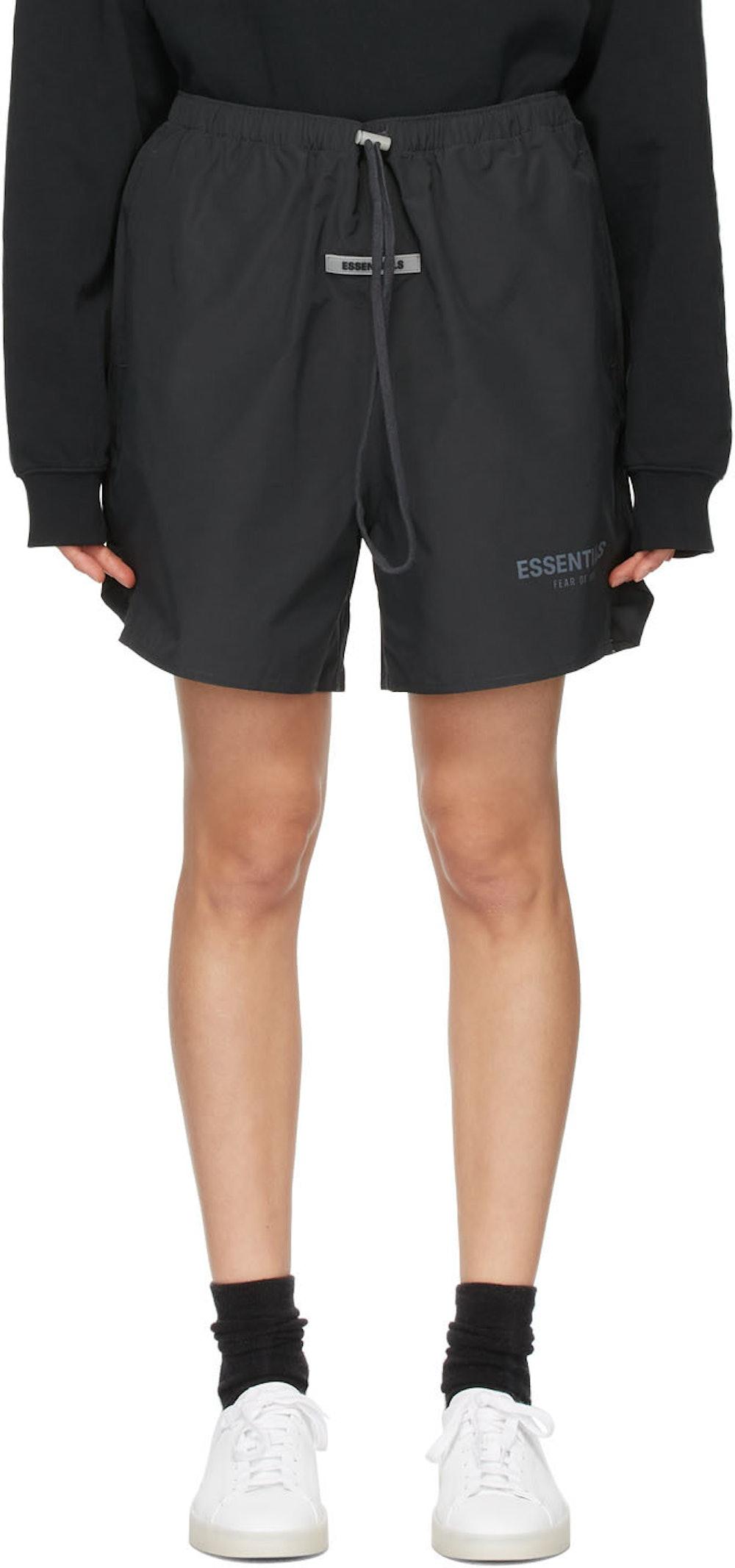 Black Volley Shorts