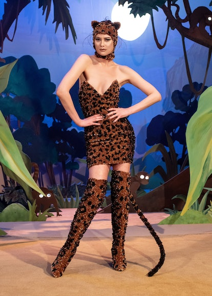 Shalom Harlow in Moschino's Spring/Summer 2021 Couture Show: Precious Lee