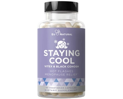 Eu Natural Staying Cool Hot Flashes & Menopause Natural Relief Supplement