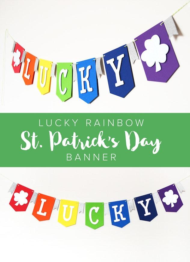 a lucky banner