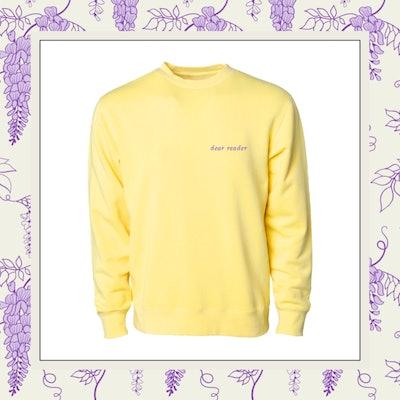 Phenomenal x Bridgerton Dear Reader Crewneck Sweatshirt