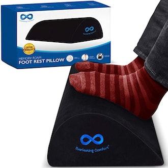Everlasting Comfort Foot Rest Pillow