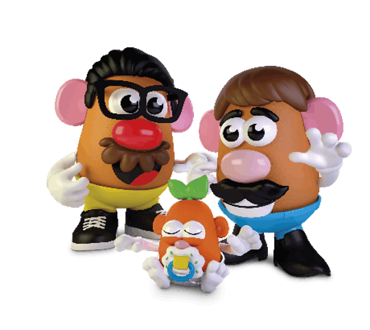 Mr. Potato Head is dropping the mister.
