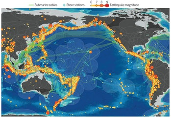 earthquake detection ocean