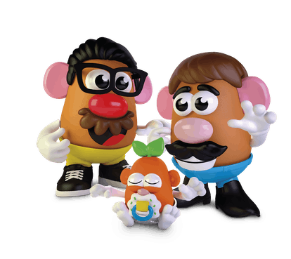 The new Potato Head Family set gives kids a more inclusive way to imagine their families.