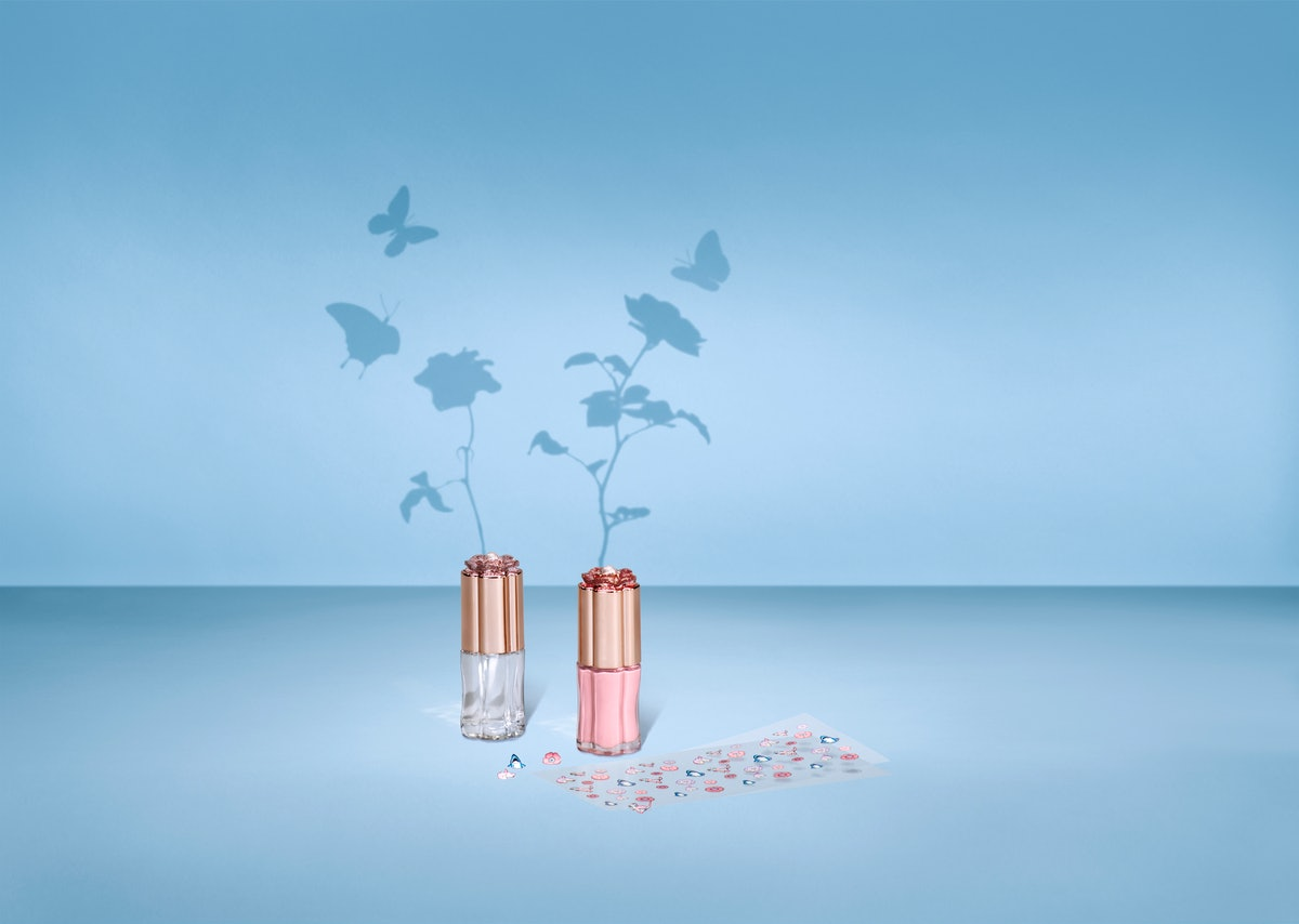 The Tea Rose Nail Set from Sephora x COACH's collaboration.