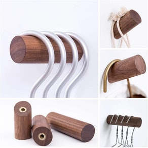 HomeDo Natural Wooden Coat Hooks