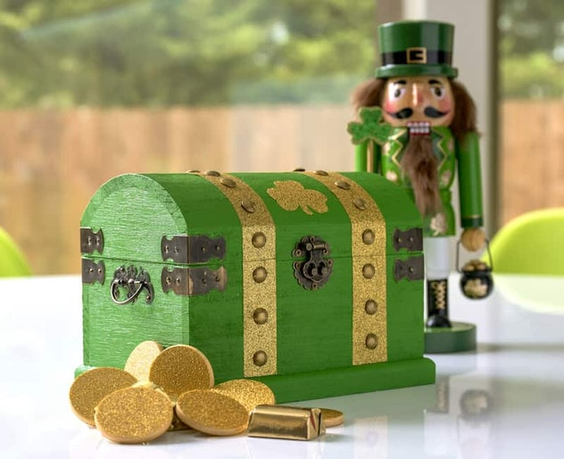 leprechaun treasure chest