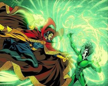 Doctor Strange fights Nightmare in the comics.