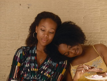 Nicole Beharie and Alexis Chikaeze in Miss Juneteenth.