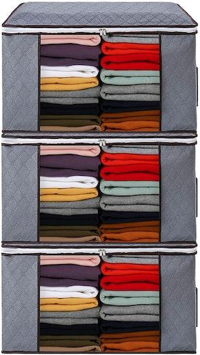 DOOOB Clothing Storage Bags (Set of 3)