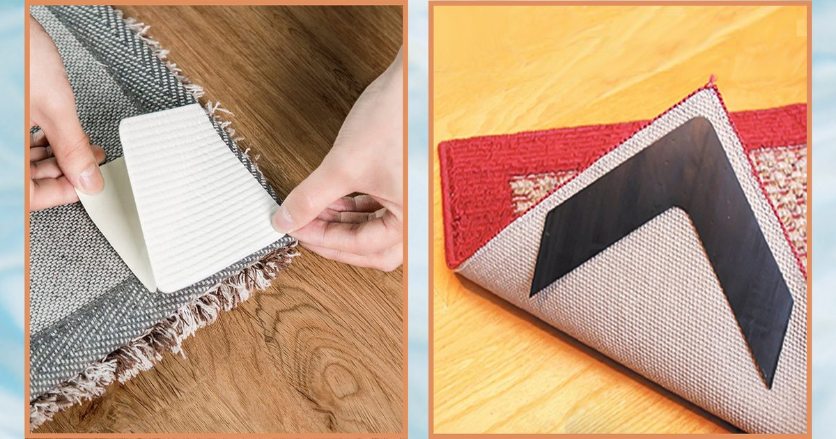 This Genius Hack Keeps Your Rugs From Sliding Around — & It's Less Than $20 On Amazon