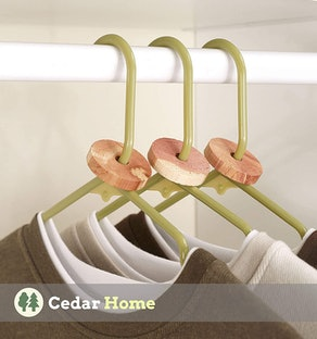 Cedar Home Cedar Blocks for Clothes (40 Count)