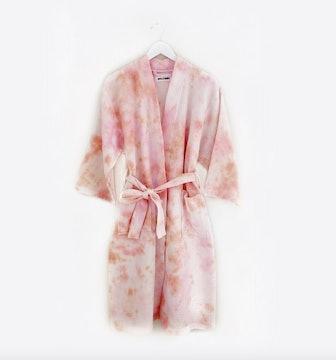 Dust Dye Rose Robe