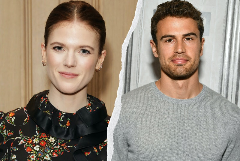 Rose Leslie and Theo James. Photos via Getty