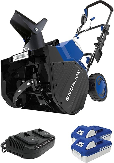 Snow Joe 24V-X2-SB18 48-Volt iON+ Cordless Snow Blower Kit