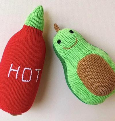 Hot Sauce & Avocado Rattles