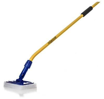 THE SIMPLE SCRUB Tile + Shower Scrubbing Mop Brush