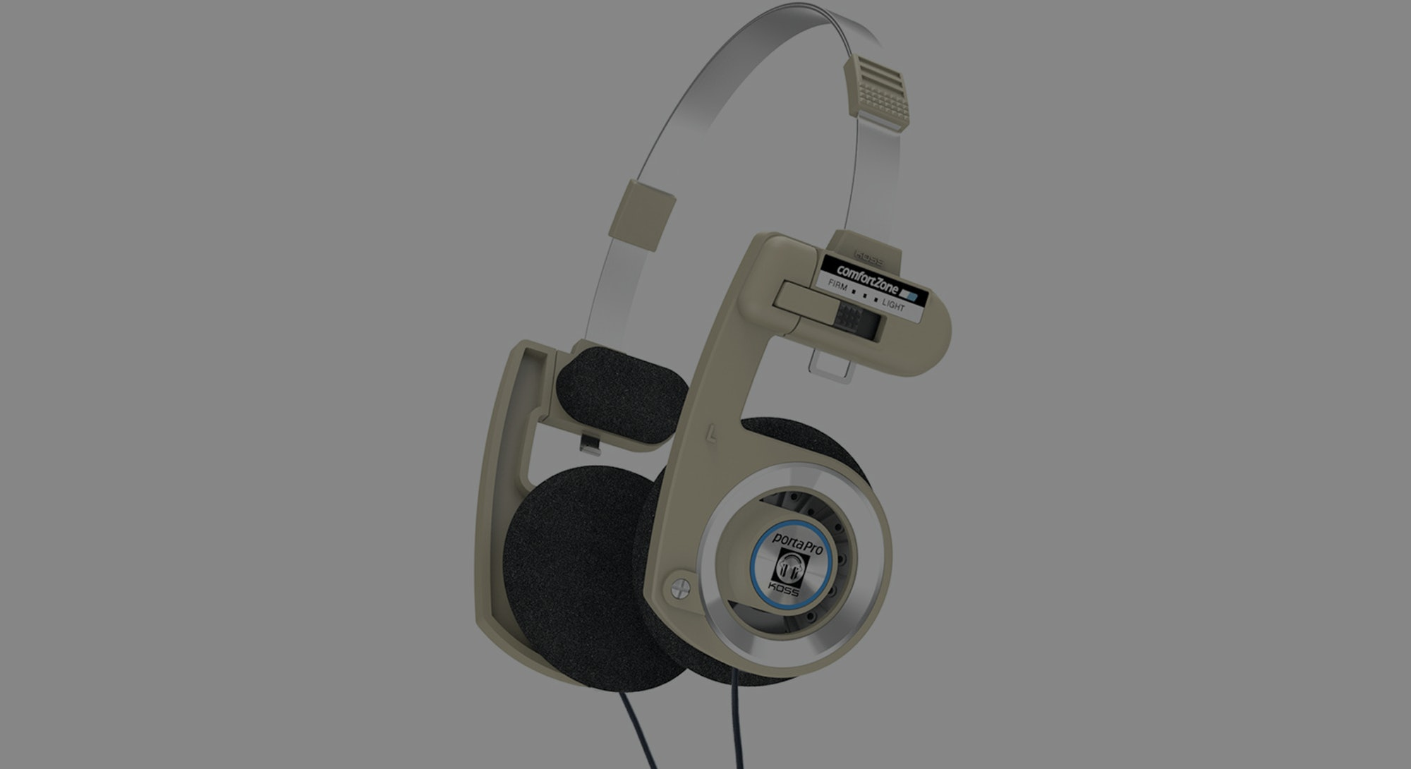 A picture of Koss' Porta Pro headphones.