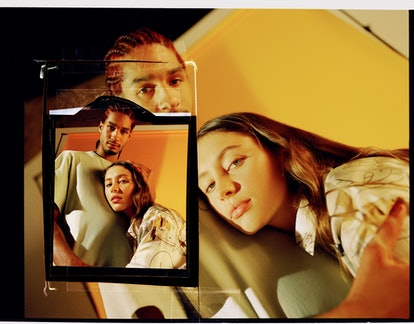 Iris Law for Stella McCartney's Shared Spring 2021 campaign.