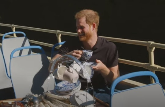Prince Harry opened up to James Corden.