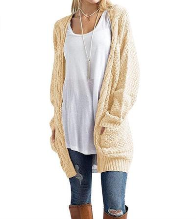 Traleubie Chunkie Knit Cardigan