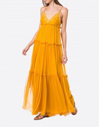 Chiffon Slip Dress