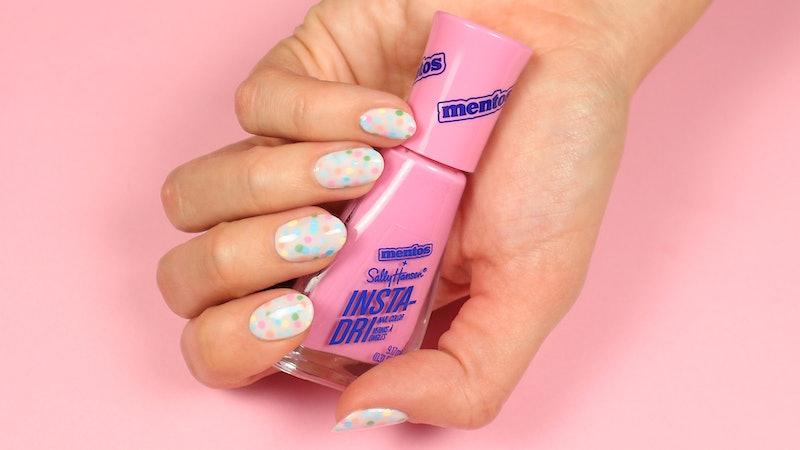 Sally Hansen x Mentos is the perfect nail polish collection for spring.