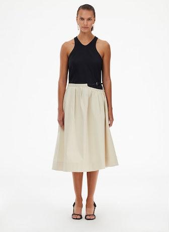 Organic Twill Cutout Skirt