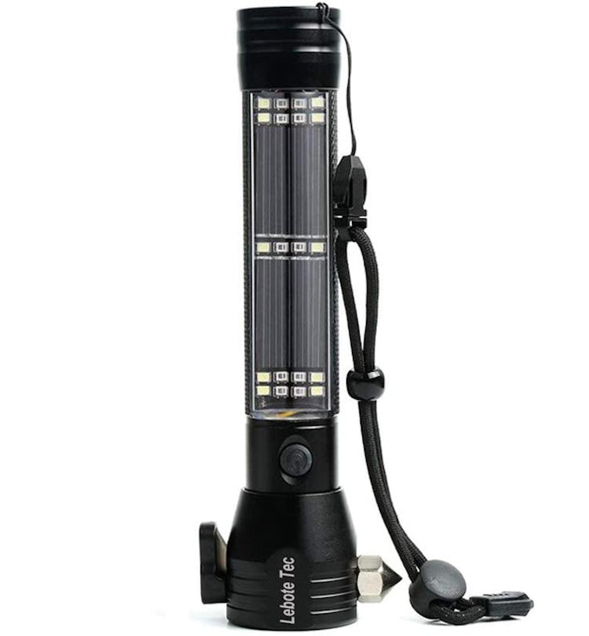 Lebote Tec Solar Power Tactical Flashlight