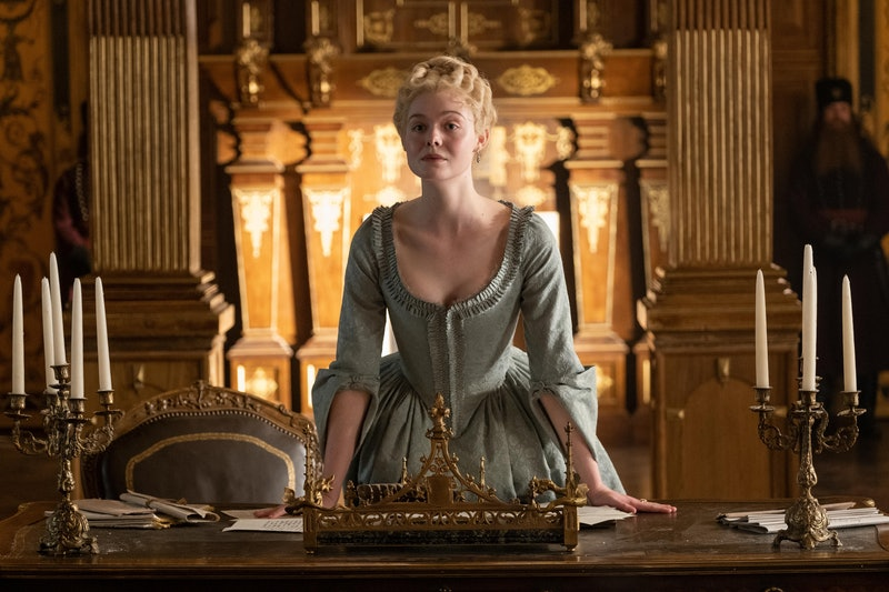 Elle Fanning as Catherine the Great in 'The Great'