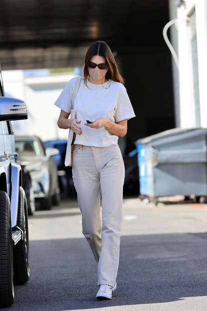 Kendall Jenner is seen on February 25, 2021 in Los Angeles, California.