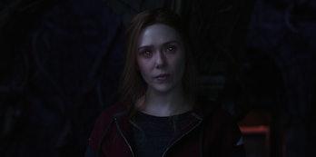 Elizabeth Olsen as Wanda Maximoff/Scarlet Witch in WandaVision Episode 8