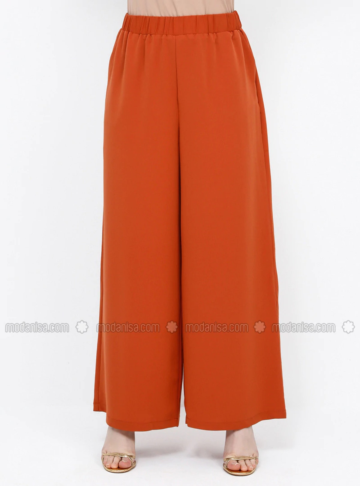 Alia Orange - Plus Size Pants