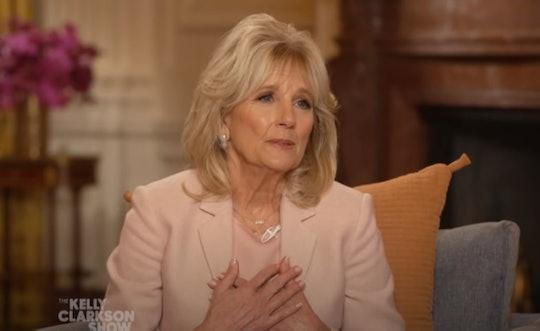 Jill Biden got real about divorce with Kelly Clarkson.