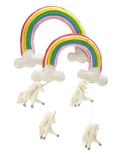 Double Rainbow Unicorn Mobile