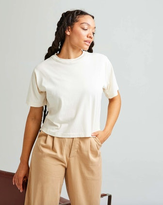 Women's Relaxed Crop Tee